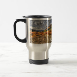 Path to Happy; Customizable Travel Mug