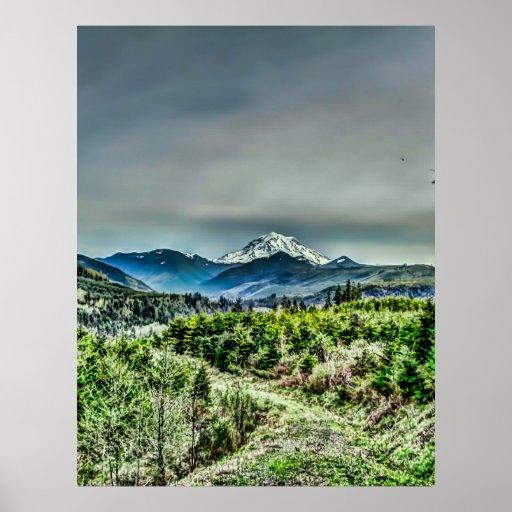 Path To Mount Rainier Posters