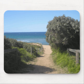 Path to palm beach mouse pad
