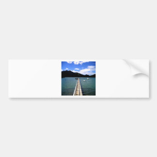 Path to Romance peace and love Bumper Stickers