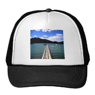 Path to Romance peace and love Trucker Hats