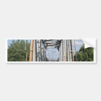 Path to succerss railway bridge  Krasnoarmeysk Mos Bumper Sticker