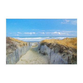 Path to the Beach Gallery Wrapped Canvas