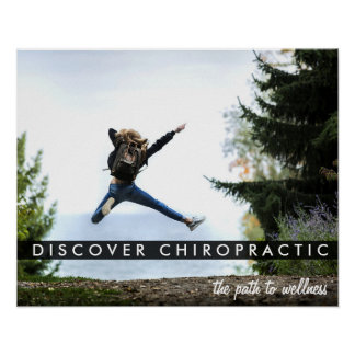 Path To Wellness - Discover Chiropractic Poster