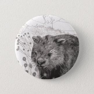 Path to Wombat Pool 6 Cm Round Badge