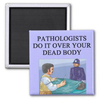 PATHOLOGISTS SQUARE MAGNET
