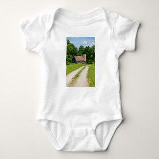 Pathway Through A Farm Baby Bodysuit