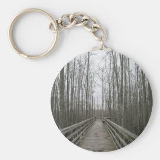 Pathway Through the Wilderness Key Ring