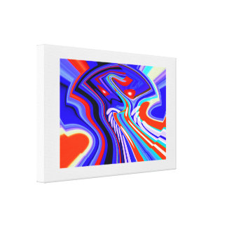 Pathways to the future gallery wrap canvas