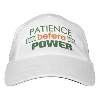 """Patience Before Power"" Pickleball Hat"