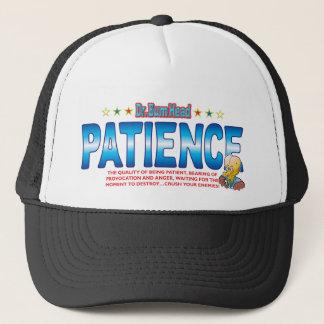 Patience Dr Bum Head Trucker Hat