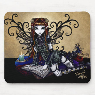 """""""Patience"""" Gothic Mouse Pad"""