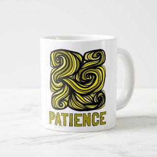 """Patience"" Jumbo Mug"