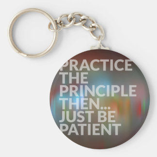 Patience Key Ring