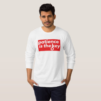 Patience (long sleeve) T-Shirt
