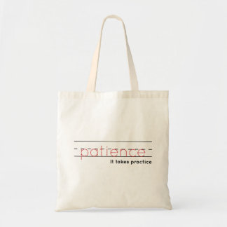 patience | Practice Tote Bag