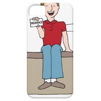 Patient Holding Insurance Card iPhone 5 Covers