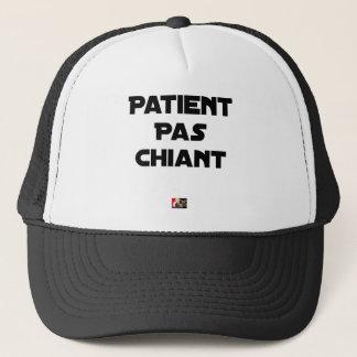Patient not Boring - Word games - François City Trucker Hat