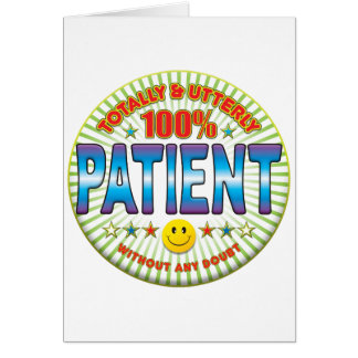 Patient Totally Card