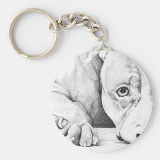 Patiently Waiting Key Ring