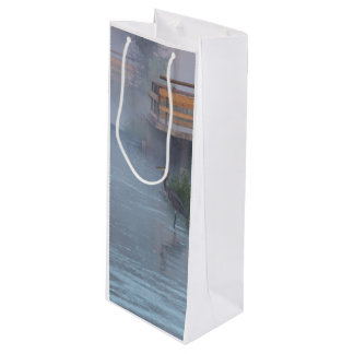 Patiently Waiting Wine Gift Bag