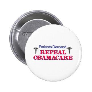 Patients Demand Buttons