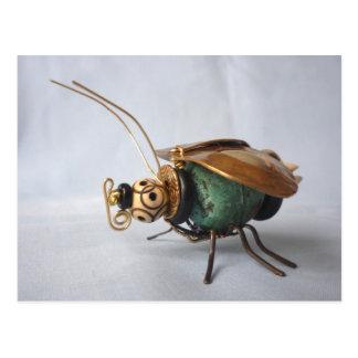 Patina Bug Postcard