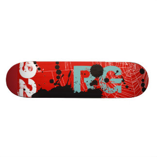 Patineta NETWORK WEB & BLACK INK Custom Skateboard