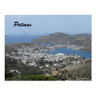 Patmos, Greece Postcard