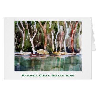 Patonga Creek Reflections, Patonga, NSW Card