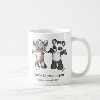 Patreon Supporter Coffee Mug - Patches and Sandy
