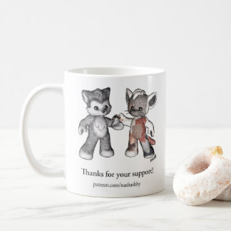 Patreon Supporter Coffee Mug - Rufus and Patches