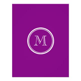 Patriarch Purple High End Colored 21.5 Cm X 28 Cm Flyer