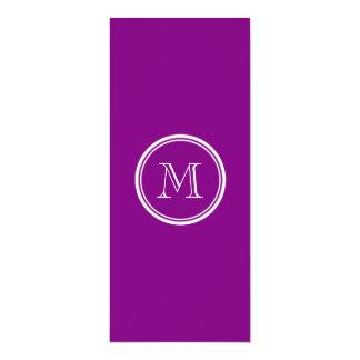 Patriarch Purple High End Colored Custom Invitations