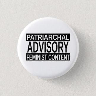 Patriarchal Advisory 3 Cm Round Badge