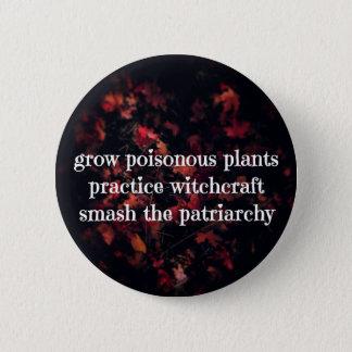 Patriarchy Spells 6 Cm Round Badge