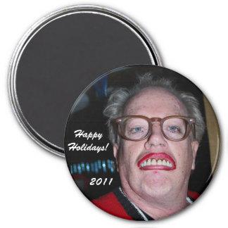 Patrick, Happy Holidays!, 2011 7.5 Cm Round Magnet