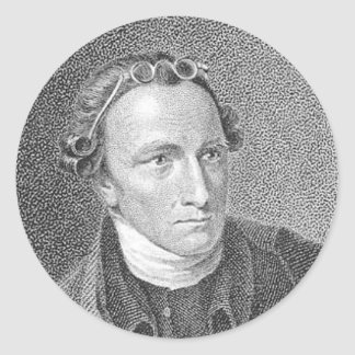 PATRICK HENRY QUOTE CLASSIC ROUND STICKER