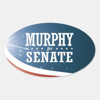 Patrick Murphy 2016 Oval Sticker