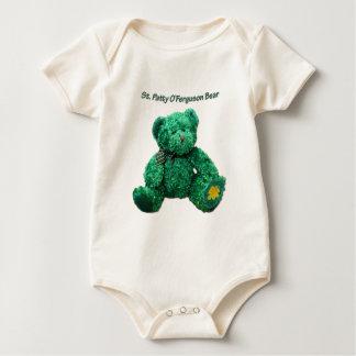Patrick O'Ferguson Green Bear Organic Baby Bodysuit