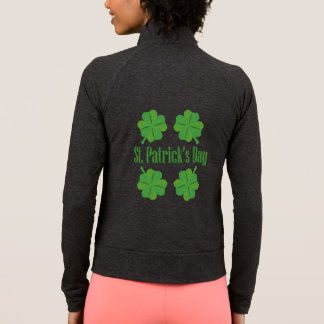Patrick's Day with clover Jacket