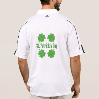 Patrick's Day with clover Polo Shirt