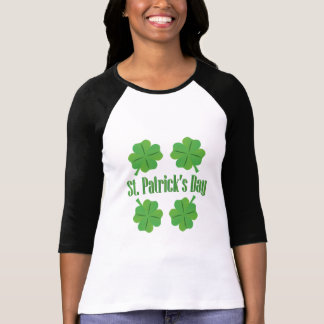 Patrick's Day with clover T-Shirt