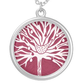 Patridge in Pear Tree Custom Necklace