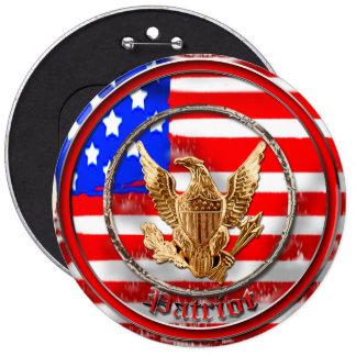 Patriot 6 Cm Round Badge