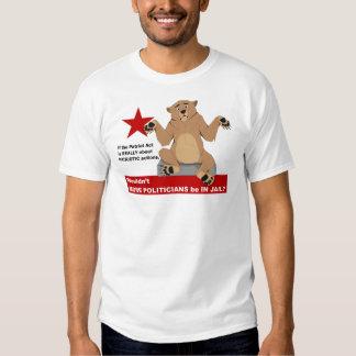 Patriot Act and Common Sense Tee Shirt
