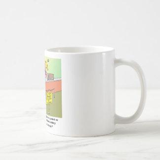 PATRIOT ACT / BANK ROBBERY COFFEE MUG