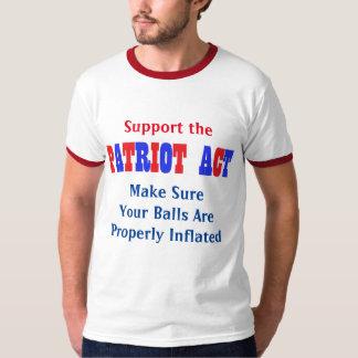 Patriot Act Shirts