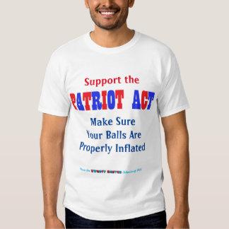 Patriot Act Tee Shirts
