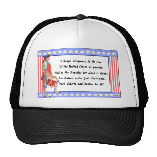 Patriot and Pledge of Allegiance Logo Cap